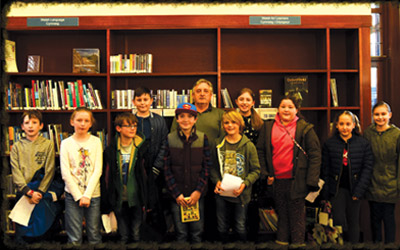 Merthyr Community Writing Squad group photo